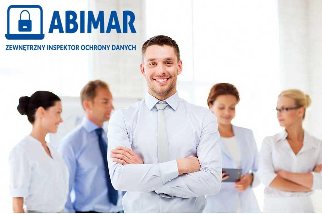 pracownicy Abimar z logo